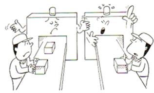 Figura 4: Funcionários treinados conforme o padrão